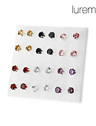 Stud Earrings Simulated Diamond Alloy Fashion Jewelry Party Daily