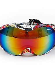 New Style Wind Dust Protection Anti UV Double Lens Riding Goggles Skiing Goggles