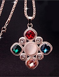 великолепный кристалл ожерелья китайский узел