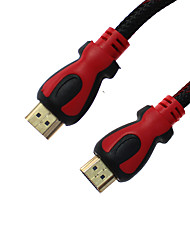 HDMI V1.4 1080P with Ethernet High Speed Cable w/Ferrite Cores(1.8M)