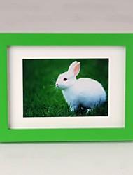foto enmarcada personalizada marco de madera de 8 pulgadas de colores con gancho para colgar 1 foto
