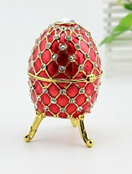 Easter Egg Jewelry Trinket Box