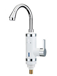 Digital Electric Water Heaters Faucet Cold hot dual-purpose China white kitchen