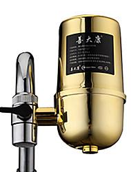 shandakang tap doméstico não potável stright purificador de água da torneira (ouro) - 110 * 135 milímetros