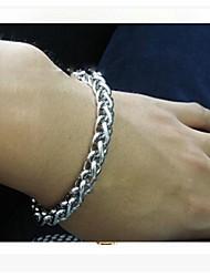 20 centímetros europeu cadeia de quilha de aço de titânio& link de pulseiras (1 pc)