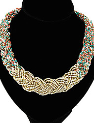 Colorful day  Women's European and American fashion necklace-0526027