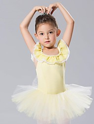 Kids' Dancewear Dresses&Skirts Tutus Children's Spandex Tulle Sleeveless