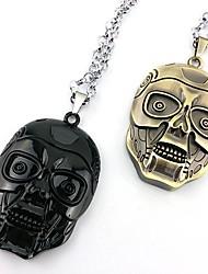 The Terminator Golden Alloy Cosplay Necklace