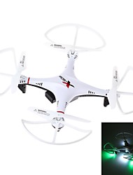 L6039 Mini 2.4GHz 4-Channel 6-Axis R/C Quadcopter with Gyro / LED Light (White & Red)