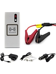 12000mah 4 in 1 function power bank car jump starter wireless charging pad with LED torchlight for Car Devices Iphone6
