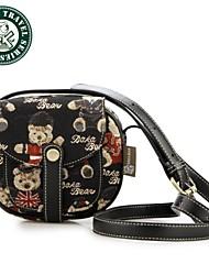 Daka bear® pieghevole borse moda donna messaggero ragazze pochette styler popolare mini sacchetto sveglio