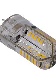 Lampadine a pannocchia 80 SMD 3014 G4 4 W Intensità regolabile 400 LM 2800-3200 K Bianco caldo AC 110-130 V