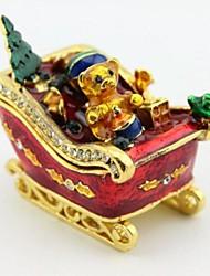 regali di Natale Orso scatola gingillo auto