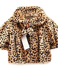 Girl's Jacket & Coat,Leopard Cotton Fall / Spring