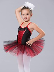Ballet Dancewear Kids' Spandex And Gauze Ballet Dance Dress(More Colors)