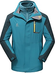 Outdoor Men's Tops / Jacket / Winter Jacket Camping & HikingWaterproof / Breathable / Rain-Proof / Dust Proof / Wearable / Windproof /
