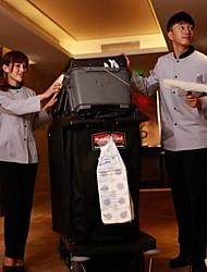 restaurants uniformes long manteau de nettoyage manches avec des boutons single-breasted