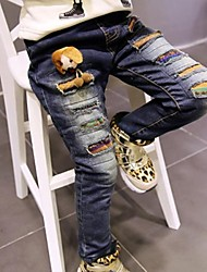 Girl's Fashion All-Matching Jeans