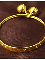 Fine Grain 24 K Gold Plating and Children's Bracelet