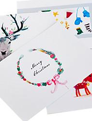 Original Single Page Type Christmas Cards