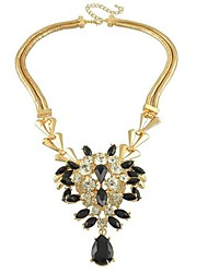 duplo colar de diamantes completa vidros das mulheres