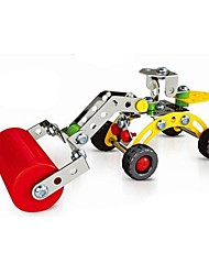 Magical Model DIY Intellectual Development Stainless Alloy Assembled Engineering Plant Road Roller Toy(78 PCS)