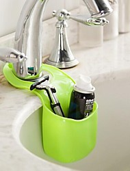 Hooks Toilet / Bathtub / Shower / Medicine Cabinets Plastic Multi-function / Eco-Friendly / Travel / Gift