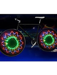 LEADBIKE A04 Multicolor 1-Mode 16LED Cool Bicycle Safety Warning Wheel Lights(300 LM,3*AAA,Multicolor)1PCS/packaging
