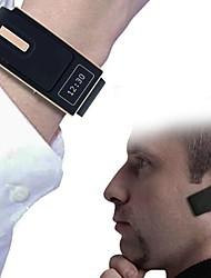 Bluetooth 3.0 pulsera de reloj de pulsera reloj inteligente y auriculares para ios iphone samsung androide