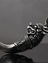 стремление восстановить древние способы, чтобы предотвратить несчастье моды рок символов Кирин шипованные титана стали ожерелья