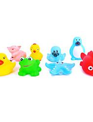 Sea Animals Designed Water Toys(8PCS,Random Color)