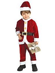 M. Claus petits enfants costume noël