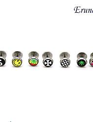Eruner®Oil Drip Titanium Steel Earrings(Assorted Colors)