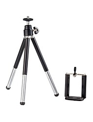 POPLAR Tow Section Design Tripod for iPhone, iPod (Black)