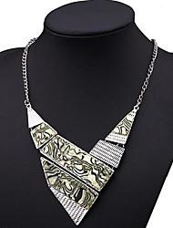 Women's Vintage Multi-level Alloy Necklace