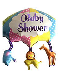 guarda-chuva para animais balão metálico