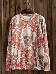 uz cráneo patrón camiseta