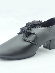 Women's Leatherette Lace Ballroom Dance Shoes
