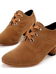 Women's Dance Shoes Modern Suede Low Heel Other