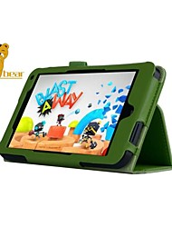 "Shy Bear™ Litchi Leather Cover Stand Case for HP Stream 7 7"" Tablet"