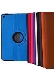 9,7 polegadas de 360 graus padrão de tecido cowboy rotação com caixa de ar suporte para ipad 2 (cores sortidas)