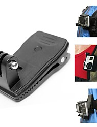 Fat Cat 360' Rotary Backpack Rec-mounts Clip Fast Clamp Mount for GoPro Hero4 / 3+ / 3 / 2 / SJ4000