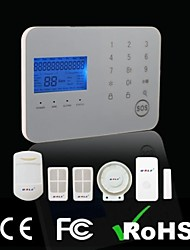 Touch Keypad GSM & PSTN Dual Network Alarm System