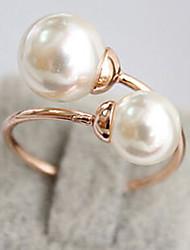 elegant Perle Ring Frauen