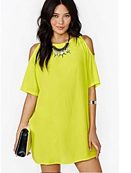 Women's Fashion Loose Dresses (More Colors) (without Necklace)