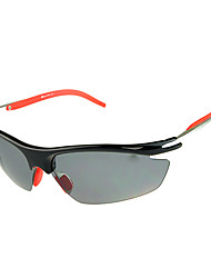 [Free Replacement Lenses] Cycling Polarized PC Wrap Classic Sports Glasses