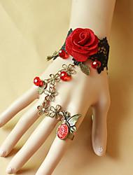 Bouquets de Noiva Redondo Buquê de Pulso Casamento Renda / Enfeite