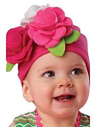 1pcs-pack automne chapeau de bébé, modélisation de capitalisation Inflant de mode todder les enfants de tissu non tissé fleurs enfants de cadeau de