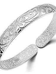 925 Sterling Silver Carpet Of Flowers Bracelet