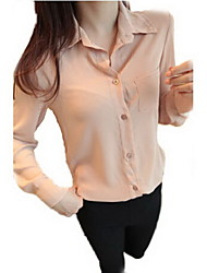 Women's Fashion Slim Chiffon Shirt